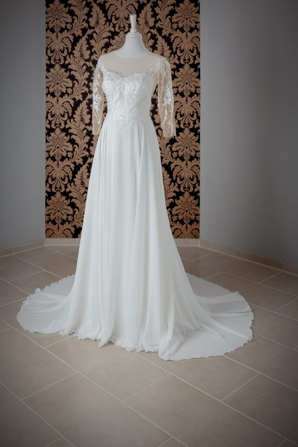 Brautkleid Mein und Fein Herve Paris Caen 003