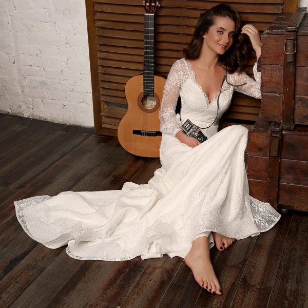 Brautkleid Mein und Fein Herve Paris St. Tropez