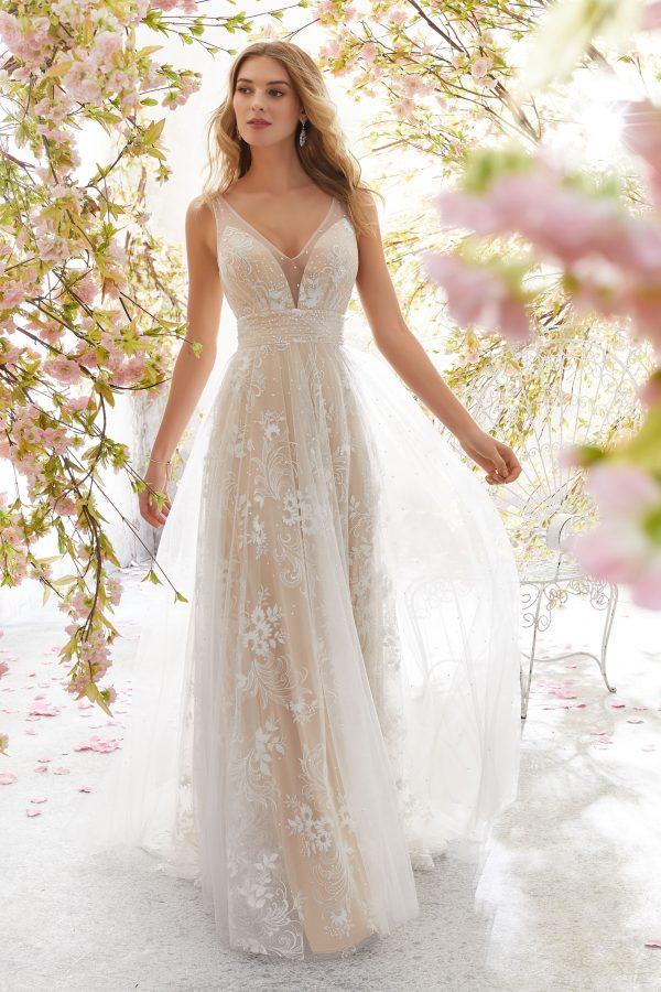Brautkleid Mein und Fein Morilee Libby 001