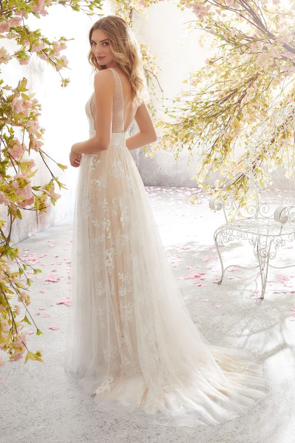 Brautkleid Mein und Fein Morilee Rolanda 002