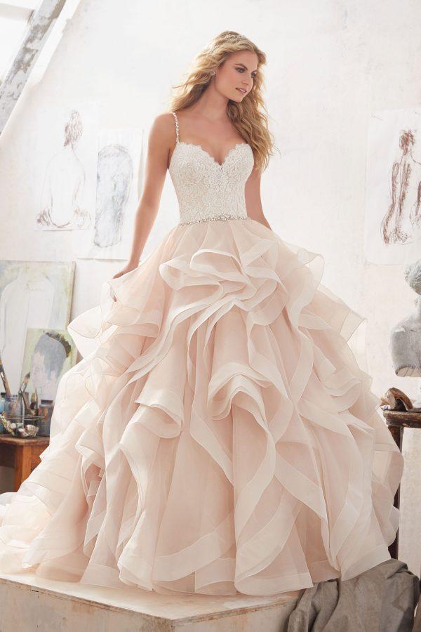 Brautkleid Mein und Fein Morilee Marilyn 001