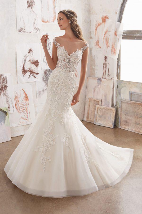 Brautkleid Mein und Fein Morilee Martha 001