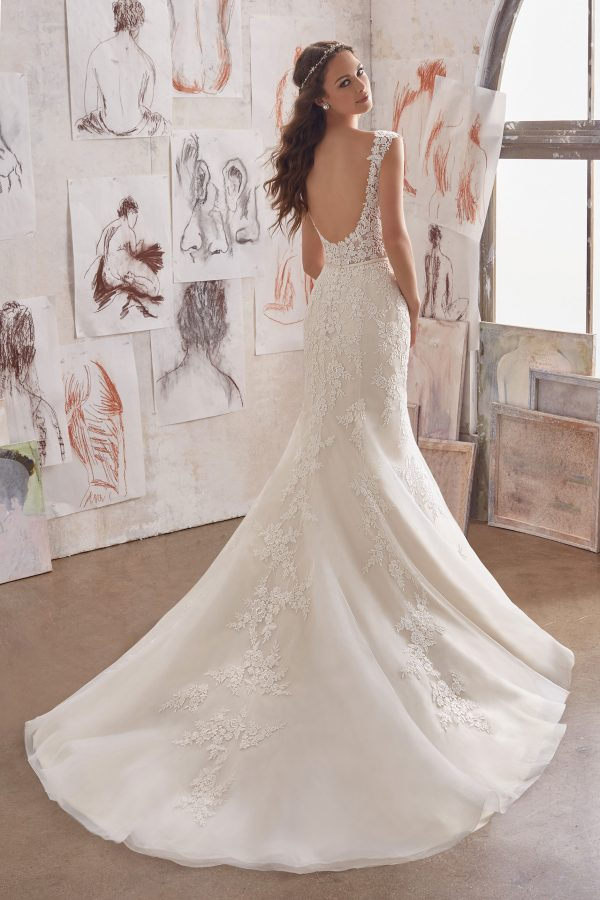 Brautkleid Mein und Fein Morilee Martha 002