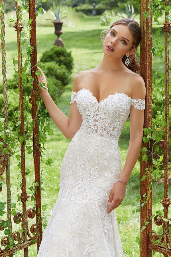 Brautkleid Mein und Fein Morilee Paradisa 004