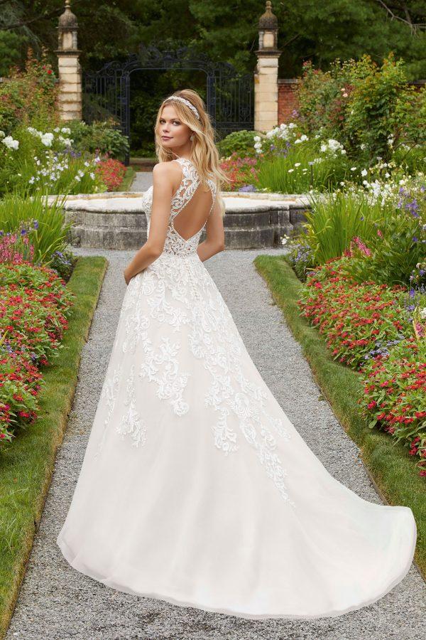 Brautkleid Mein und Fein Morilee Parthenia 002