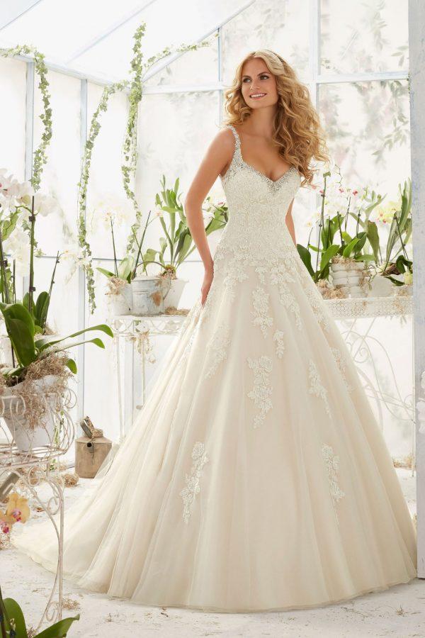 Brautkleid Mein und Fein Morilee Patricia 001