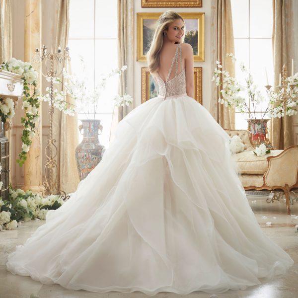Brautkleid Mein und Fein Morilee Pelagia 002