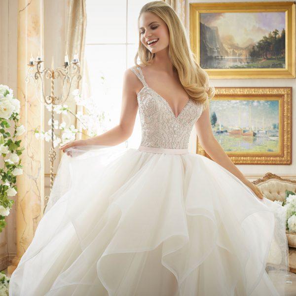 Brautkleid Mein und Fein Morilee Pelagia 003