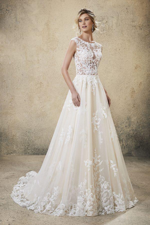 Brautkleid Mein und Fein Morilee Ronan 001